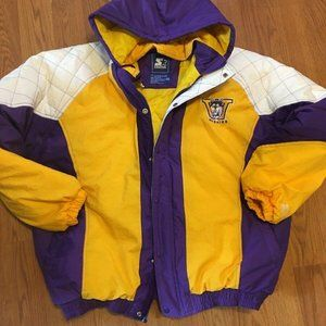 Vintage 90's STARTER Washington HUSKIES Puffy Coat